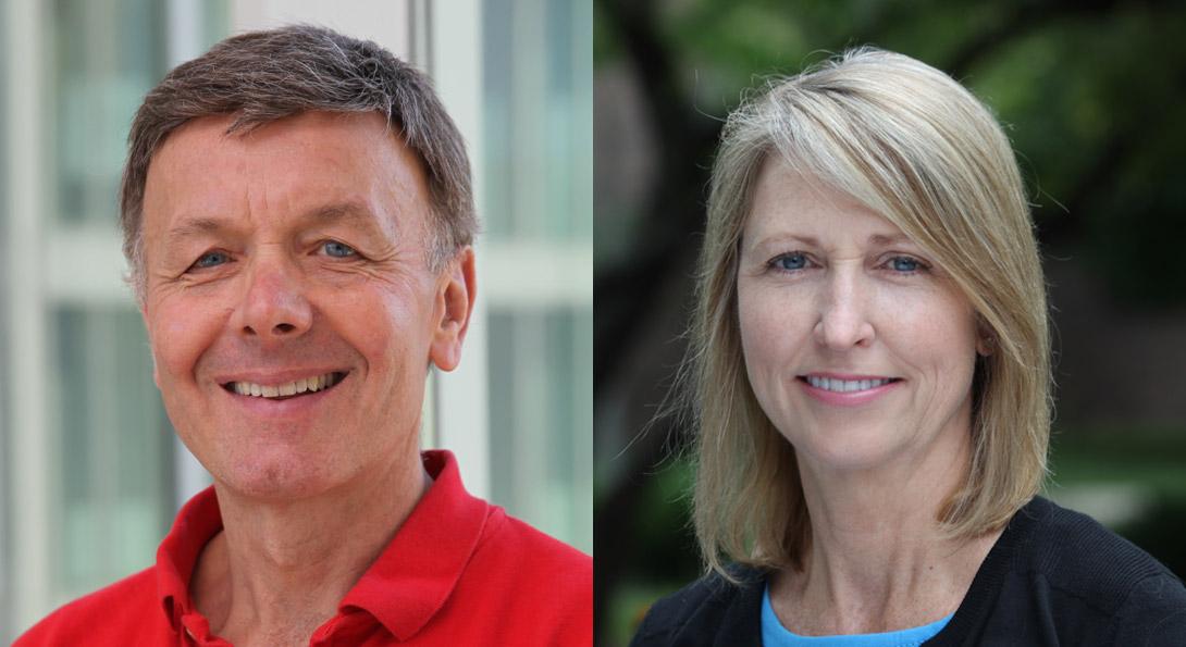 Bob Liden (Professor of Managerial Studies) and Sandy Wayne (Professor of Managerial Studies)