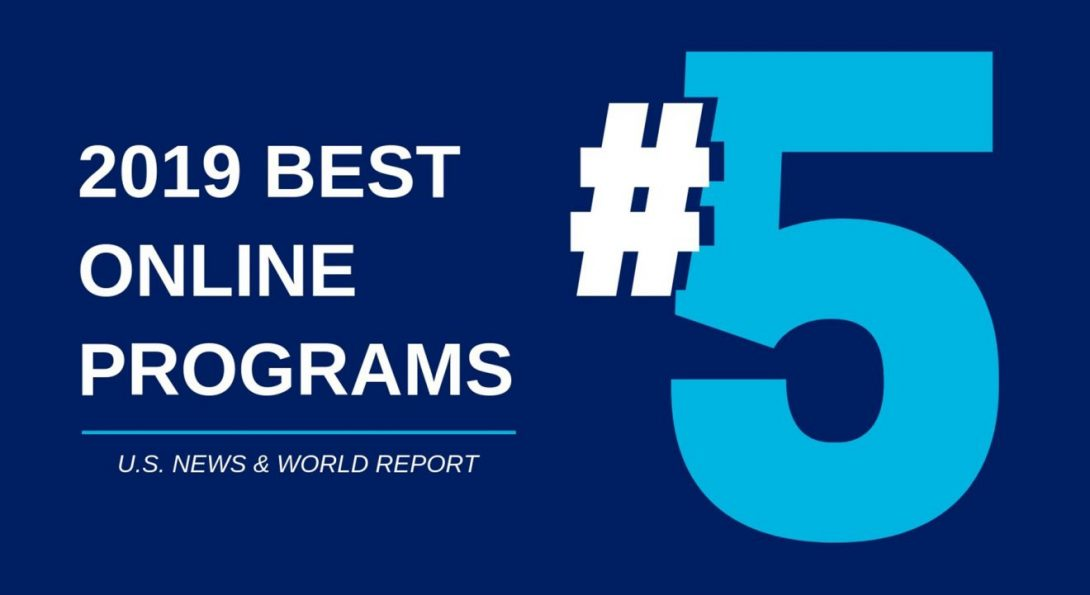 UIC Online Programs are #5 in the Nation