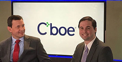Finance Professor Oleg Bondarenko joined CBOE for a panel about option-writing and volatility buying