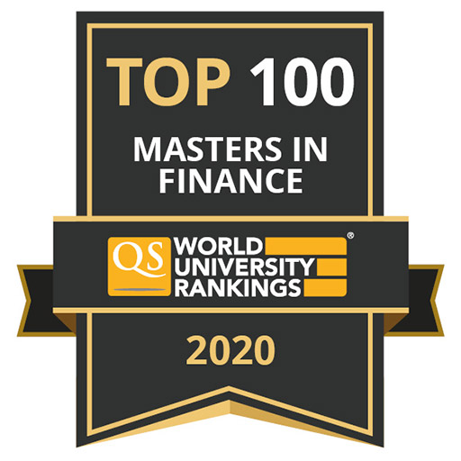 QS World University Rankings has ranked the UIC Business MS in Finance 89th.