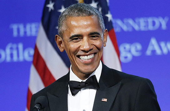 Barack Obama from Getty Images