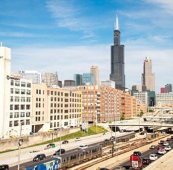 Chicago is a hub for the movement of goods on a local, national and international scale.