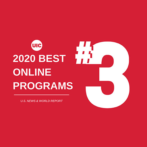 Ranked Third in 2020 Best Online Programs according to U.S. News and World Report