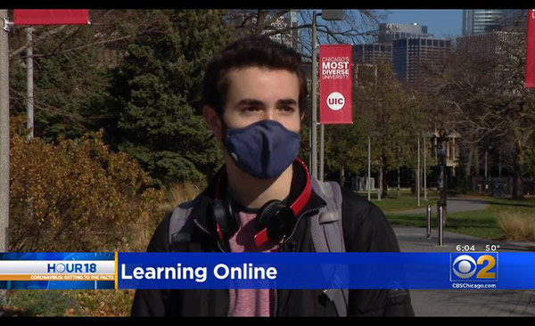 UIC Goes To All-Remote Learning; 'I Don't Think It Feels Like School At All'