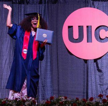 UIC graduate, Jeyra Rivera Arocho